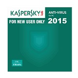 KASPERSKY Anti Virus 2015 (1 User) [SOF-KAS-ANT-2015-1U-6-BLN] - Client Software Antivirus FPP